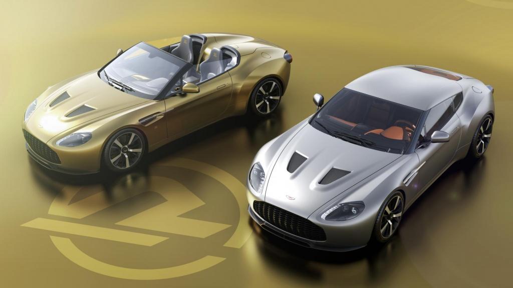 Само по двойки - нов прочит на Aston Martin V12 Vantage Zagato