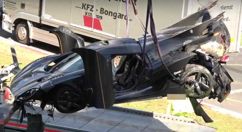 Да катастрофирате на Нюрбургринг може да ви струва по-скъпо от нов автомобил