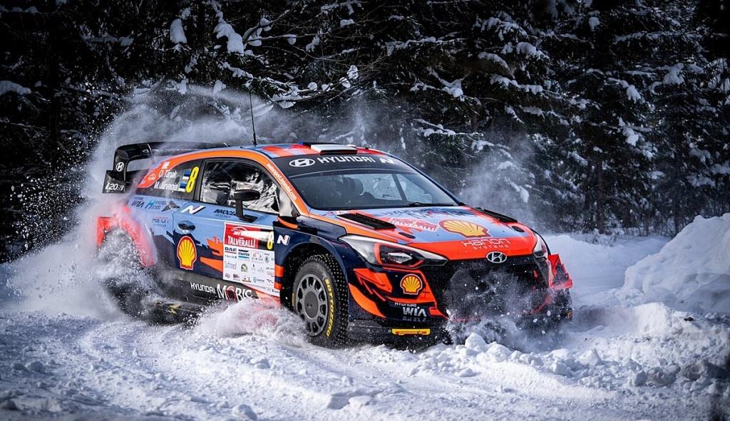 Ойт Танак спечели рали Арктик във Финландия