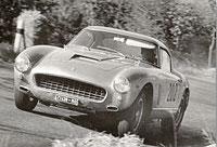 1962: Willy Koenig with the 250 GT Berlinetta, short wheel base