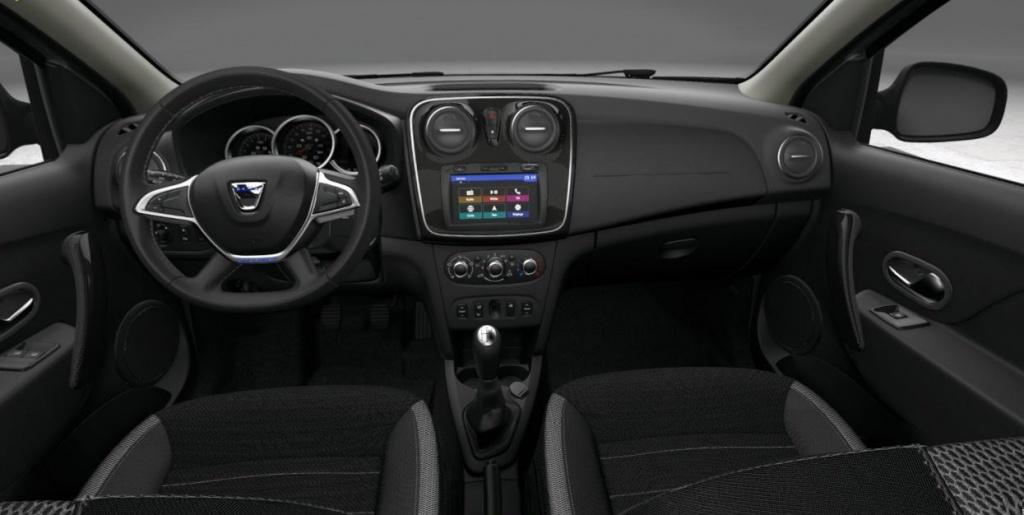 Dacia Sandero Stepway 2019 interior