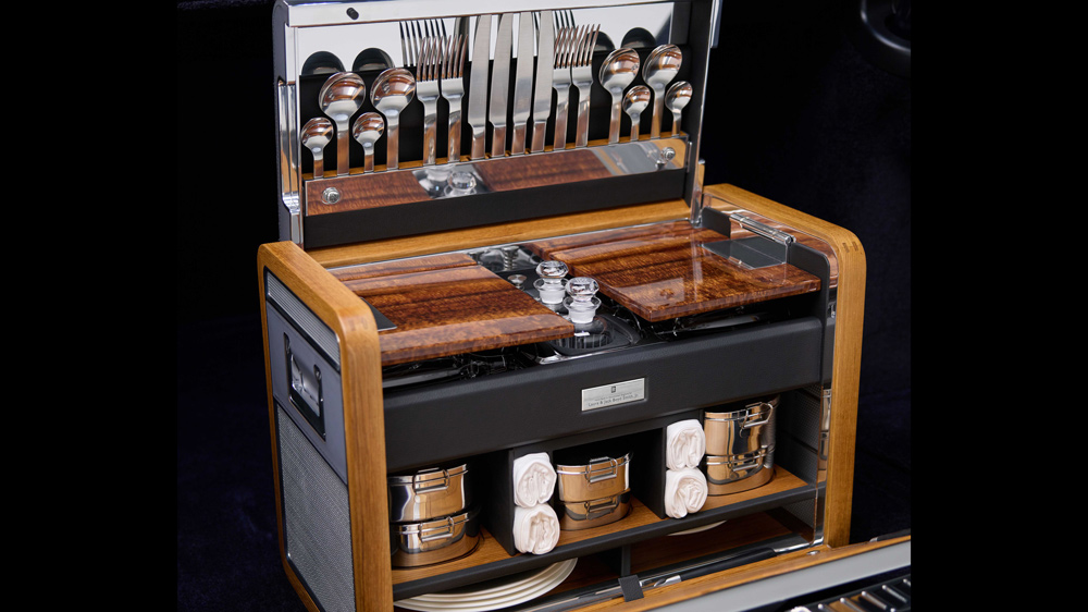 Rolls_royce Phantom Koa wood picnic hamper