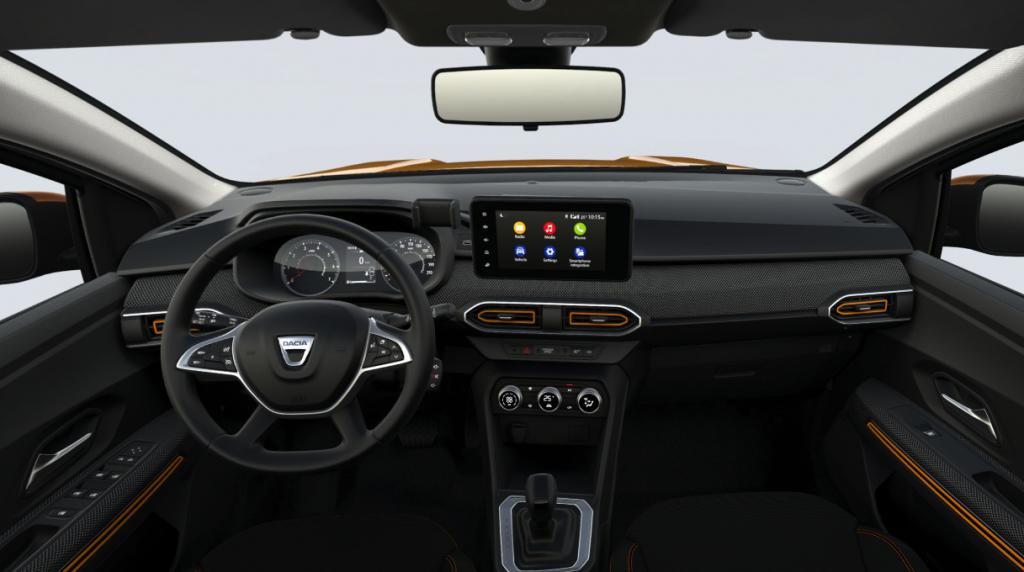 Dacia Sandero Stepway 2021 interior