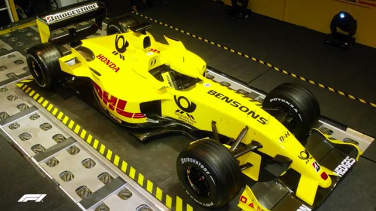 F1 Jordan car launch 2002