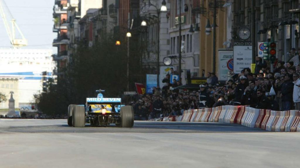Renault F1 Launch Teatro Massimo