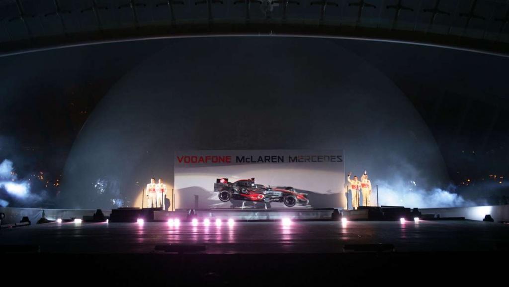 McLaren F1 Launch 2007 Cirque de Soleil