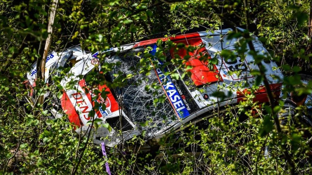 Кале Рованпера катастрофира в първи етап на рали Хърватия