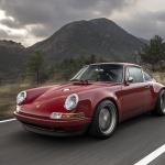 Red Singer Porsche