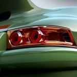 Green Singer Porsche
