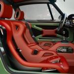 Singer Porsche Red Interior