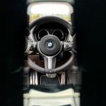 Steering Wheel of BMW X2 M Mesh Edition in Dakota/Alcantara Mocha/Anthracite