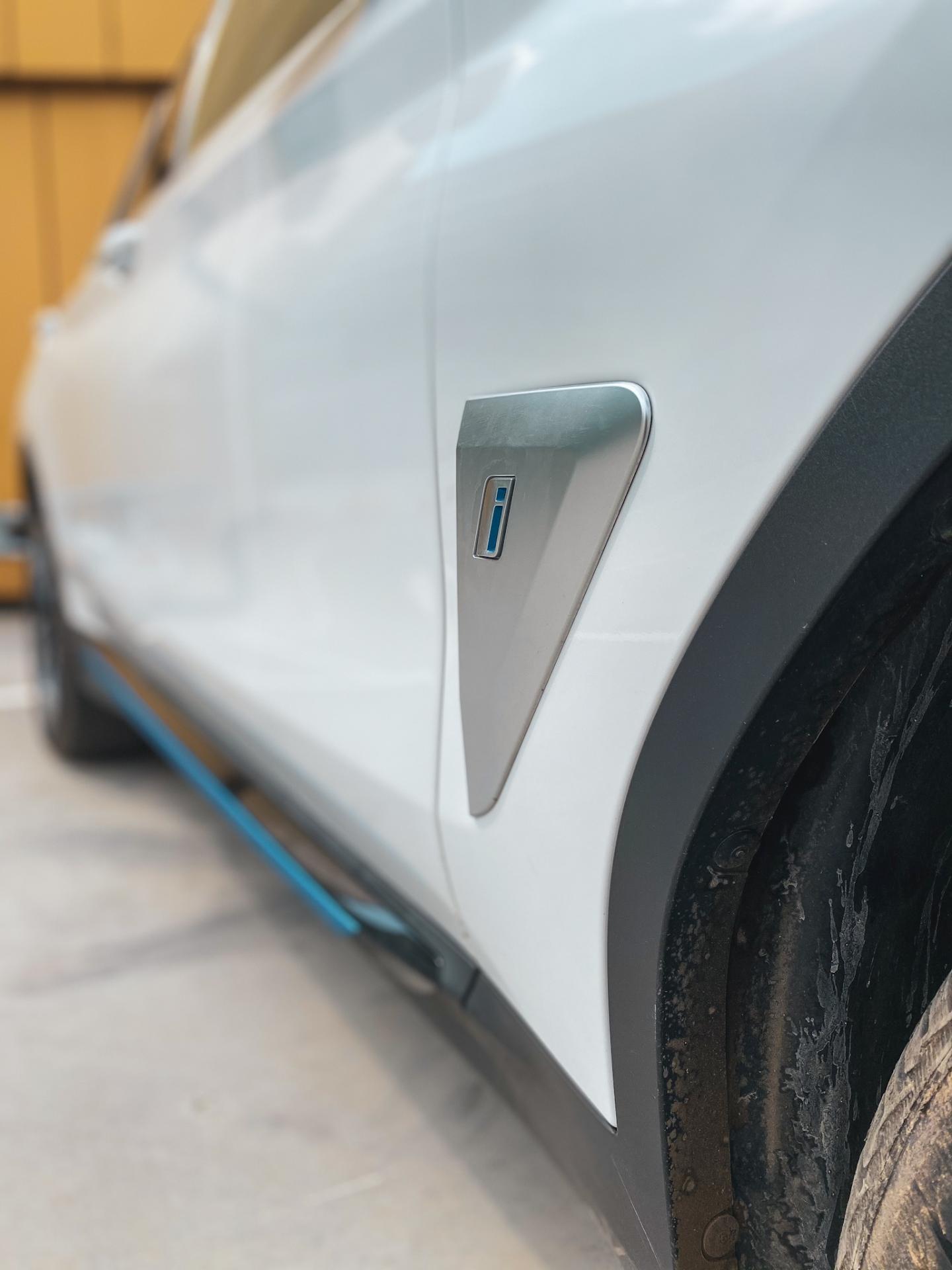 BMW iX3 side badge