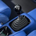 Blue Singer Porsche Interior