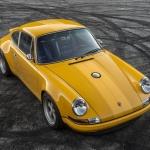 Yellow Singer Porsche