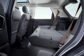 Honda e Interior rear seats