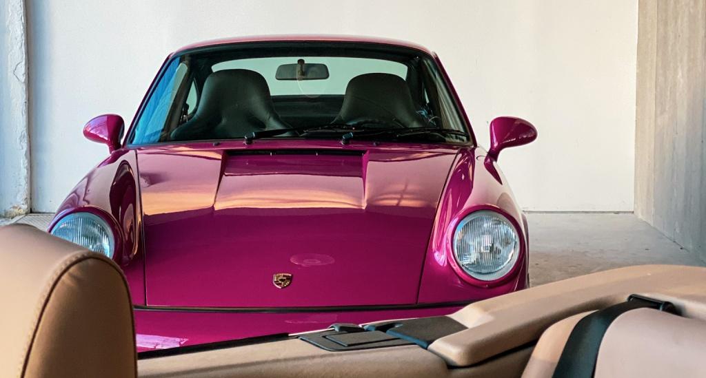 Porsche 964 RS Ruby Red colour