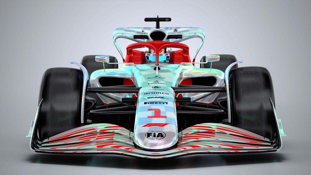 Формула 1 болид 2022