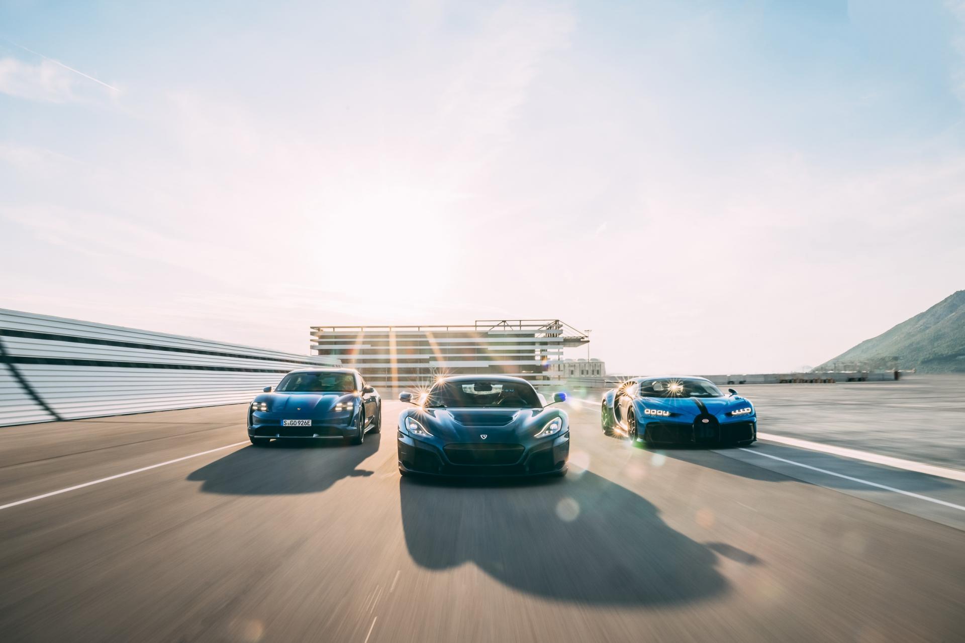 Bugatti Rimac new company
