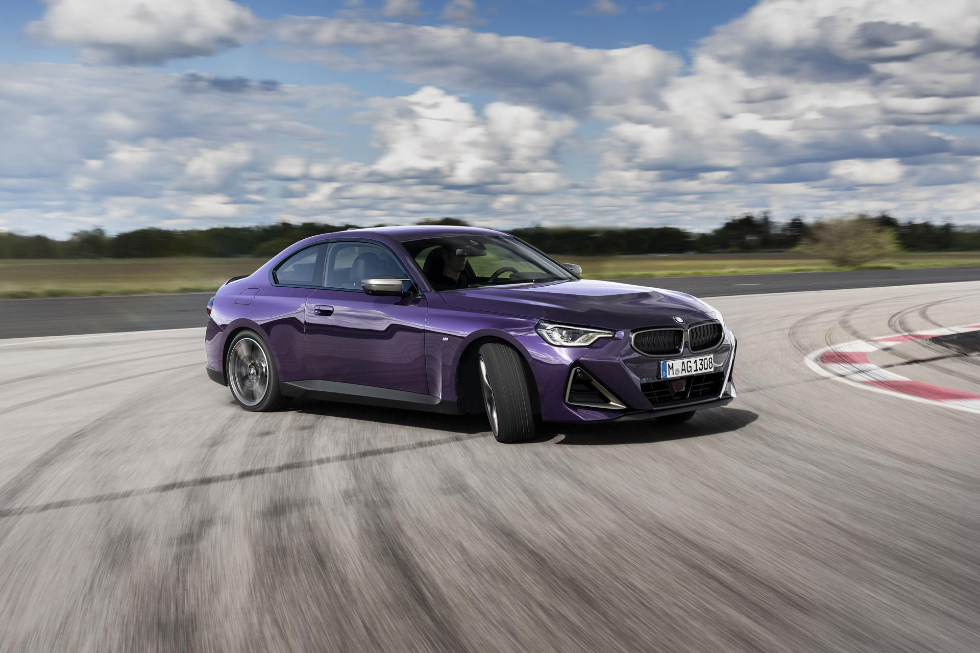 The new BMW 2 Series M240 xDrive