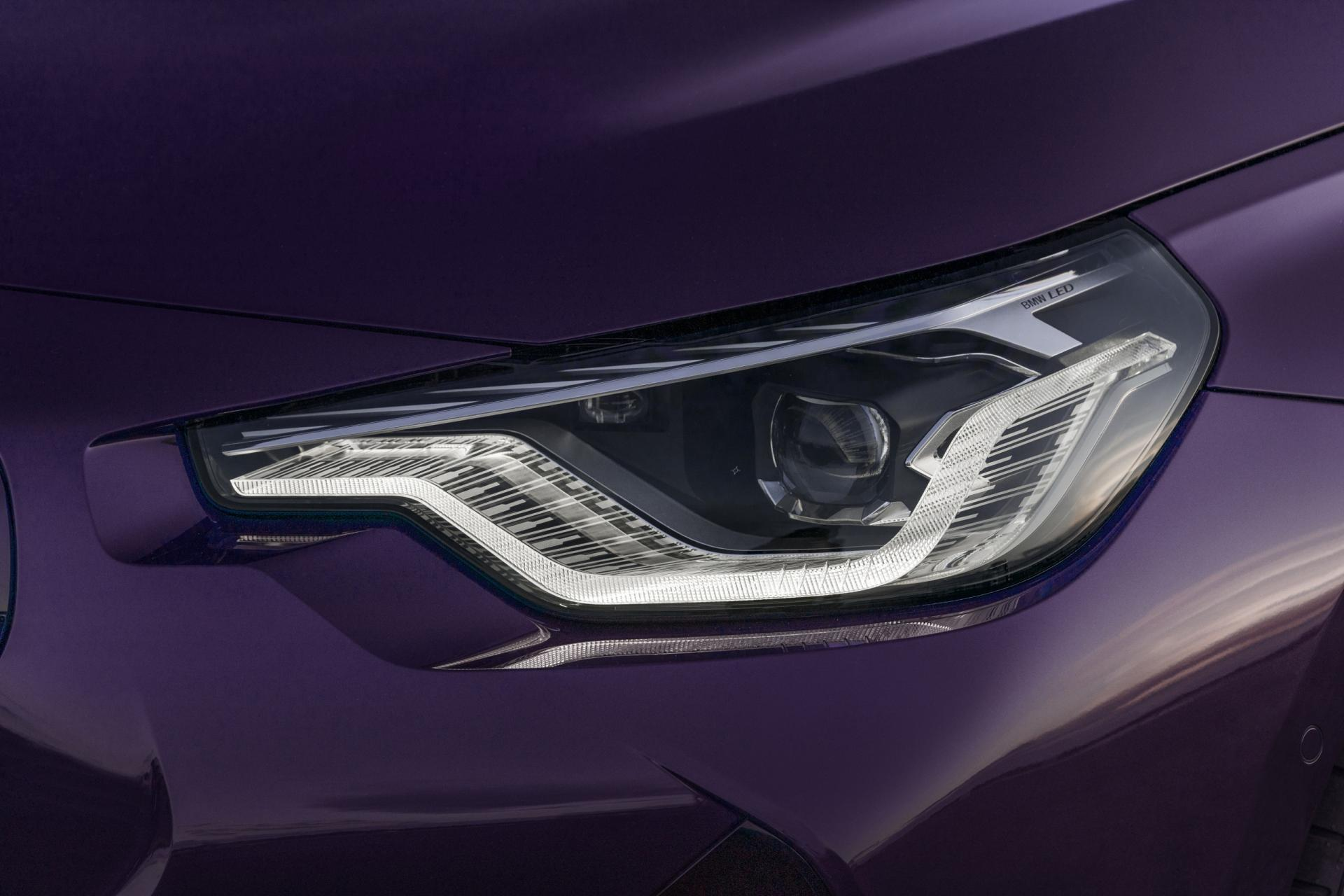 New BMW 2 Series headlights