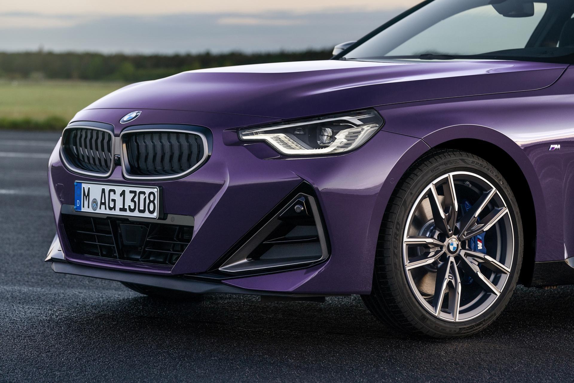Новото BMW Серия 2 Купе отпред