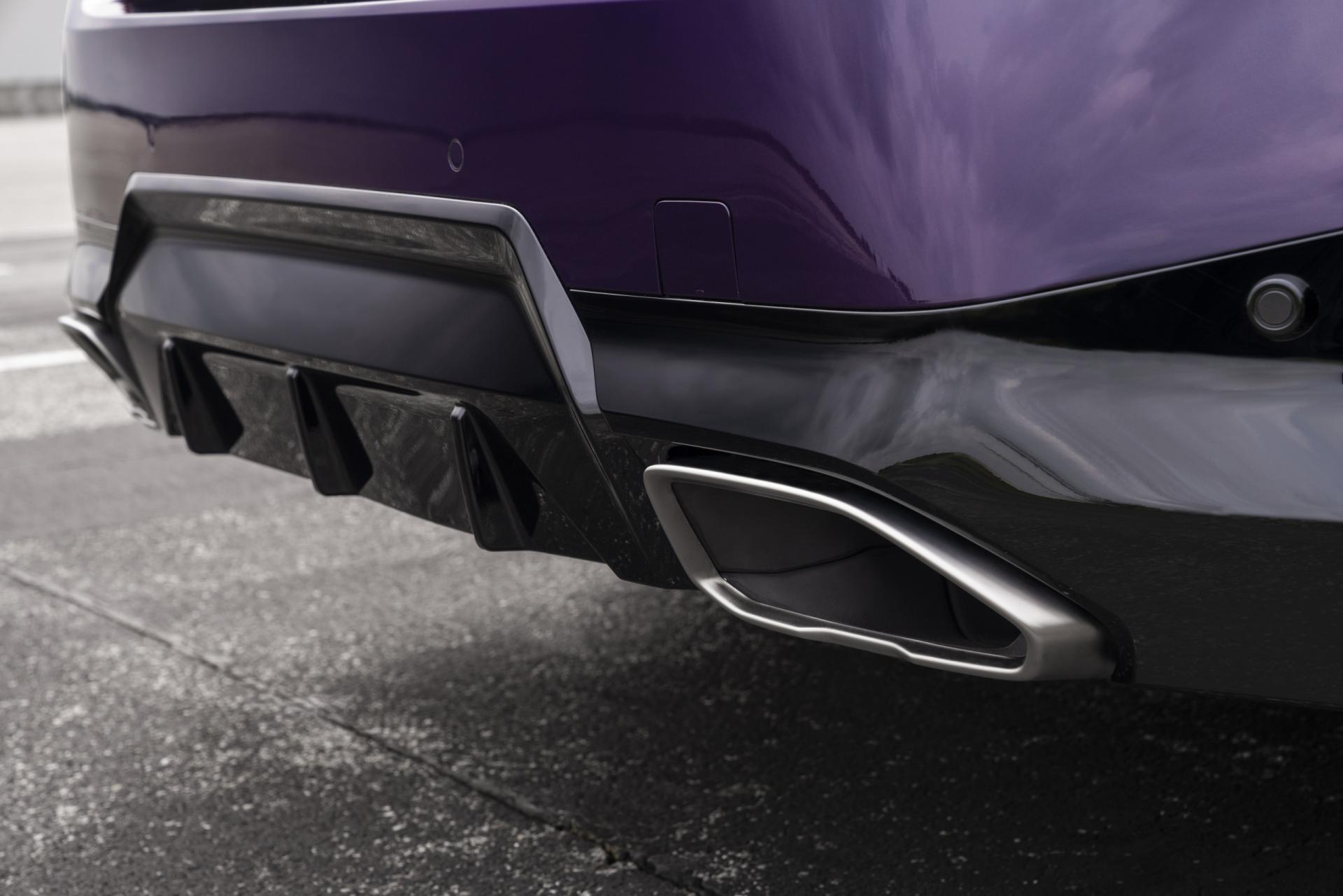 New BMW 2 Series Coupe diffuser