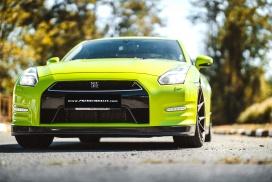 nissan gtr lemon green