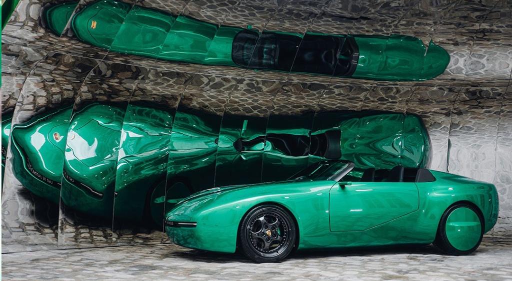 Porsche 968 L'ART от L'Art de L'automobile - за изкуството, културата и любовта към колите