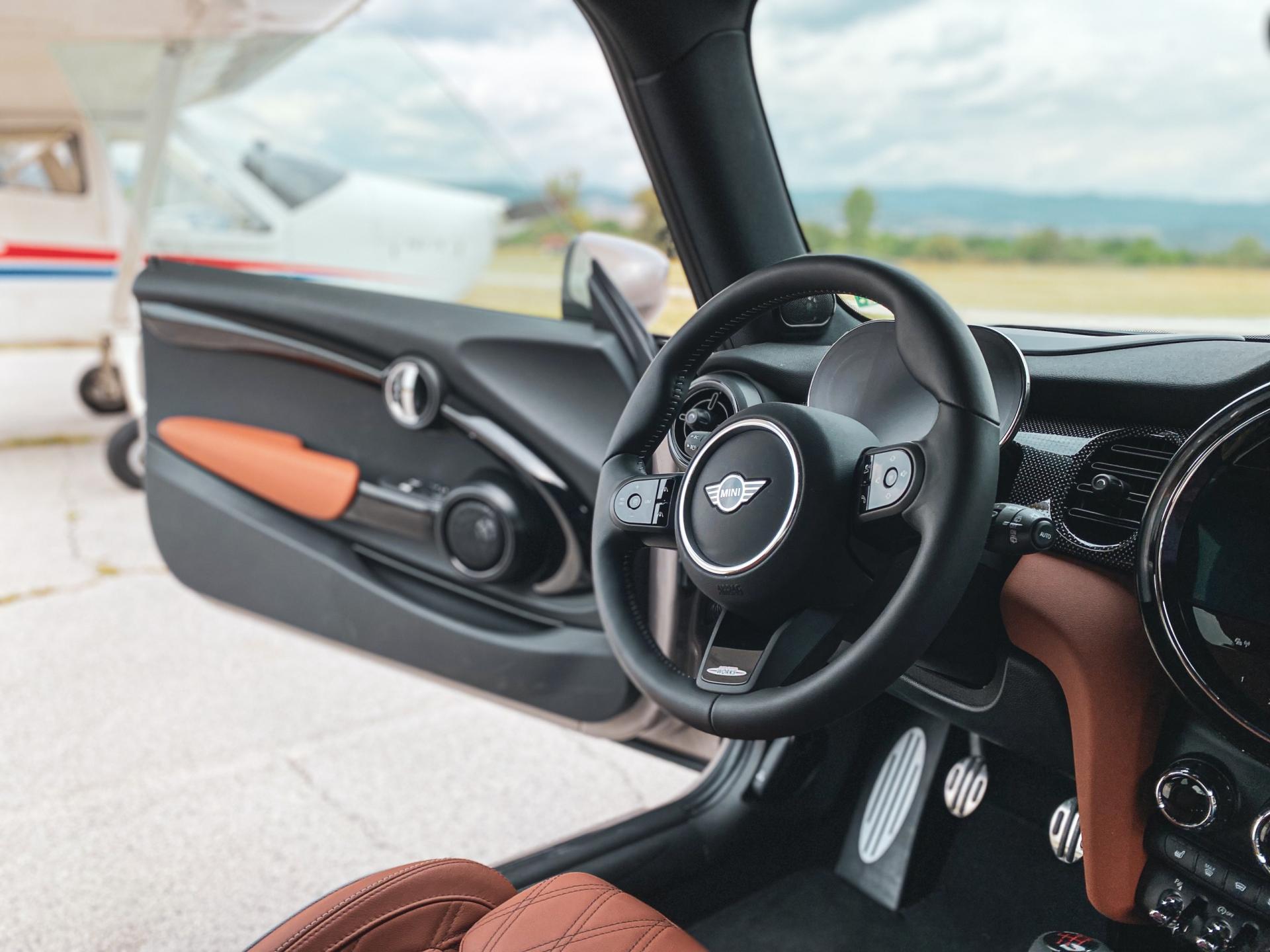 MINI JCW 2021 Interior steering wheel
