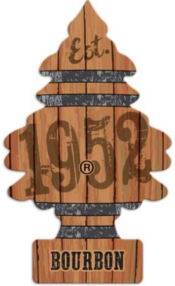 """Little Trees """"Bourbon"""" Scent"""