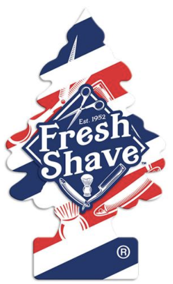 """Little Trees """"Fresh Shave"""" Scent"""
